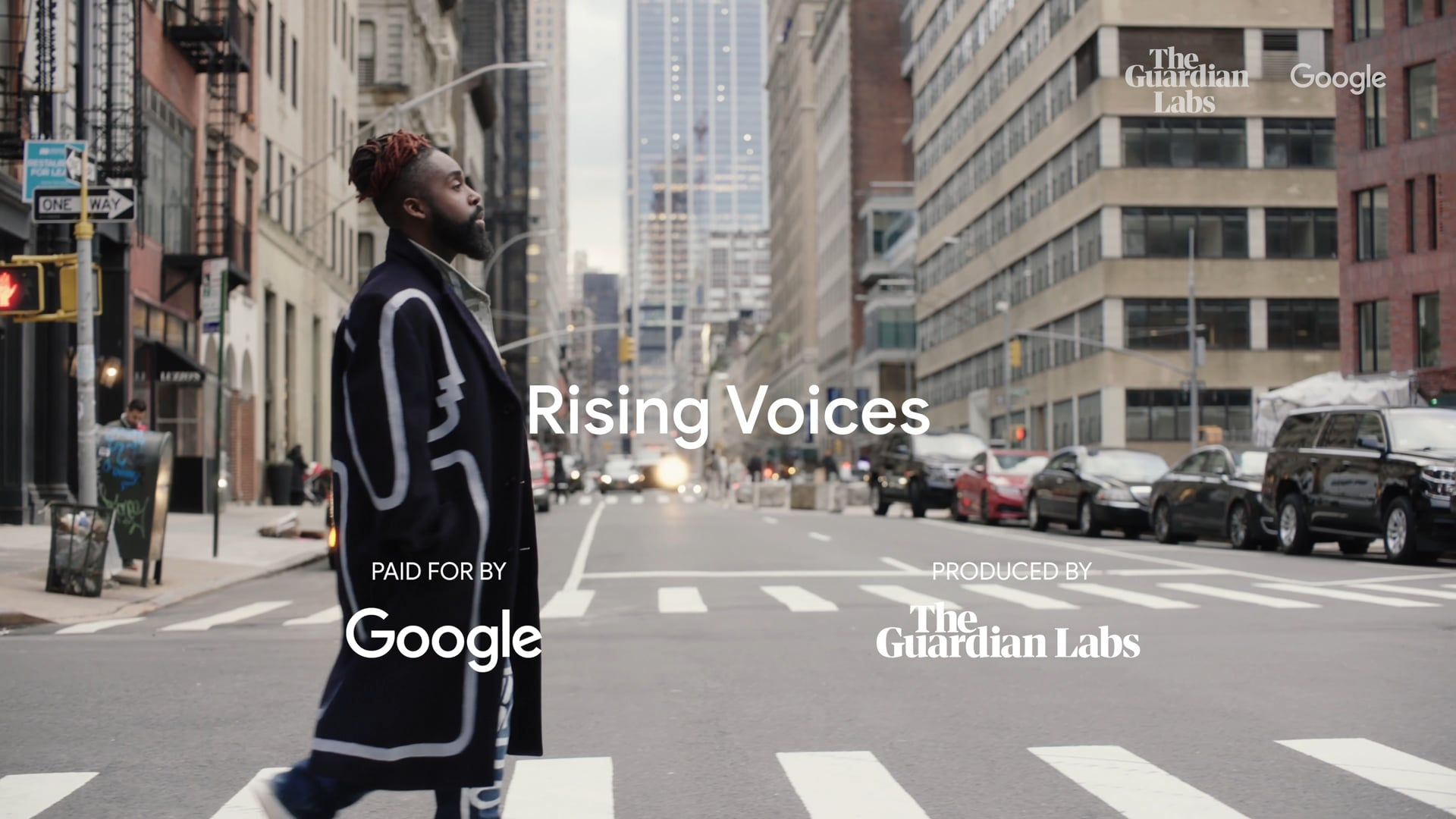 THE GUARDIAN x GOOGLE I Rising voices: Mykal Kilgore