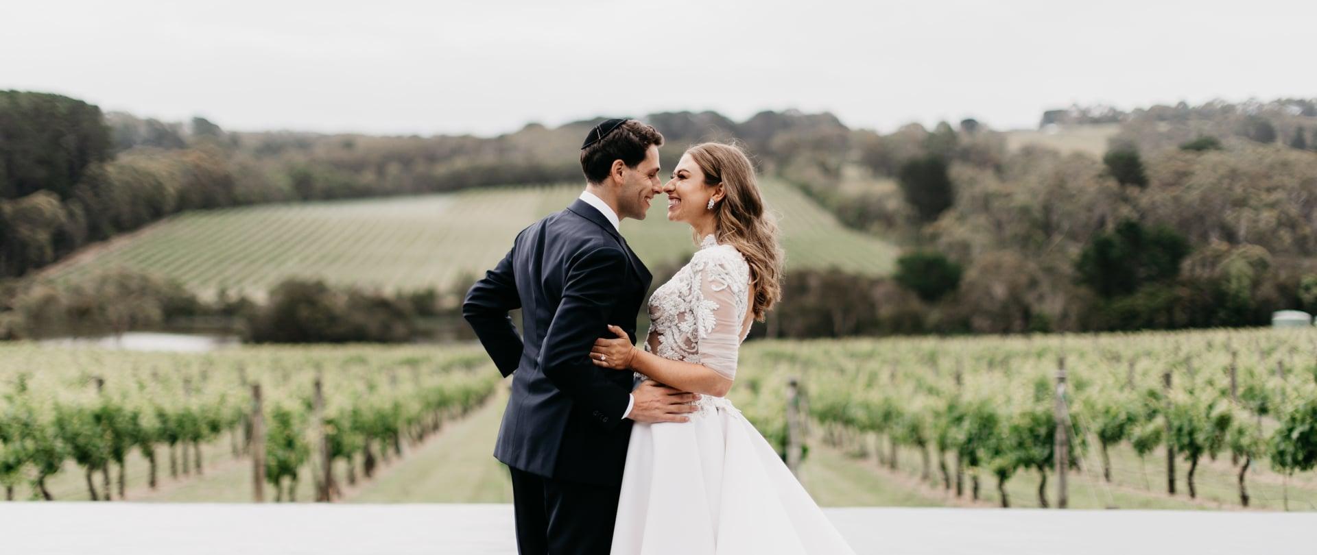 Charlotte & Harley Wedding Video Filmed at Mornington Peninsula, Victoria