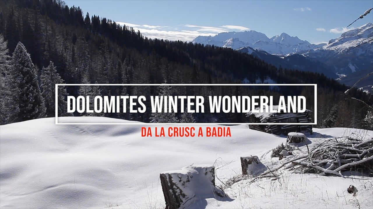 Dolomites Winter Wonterland
