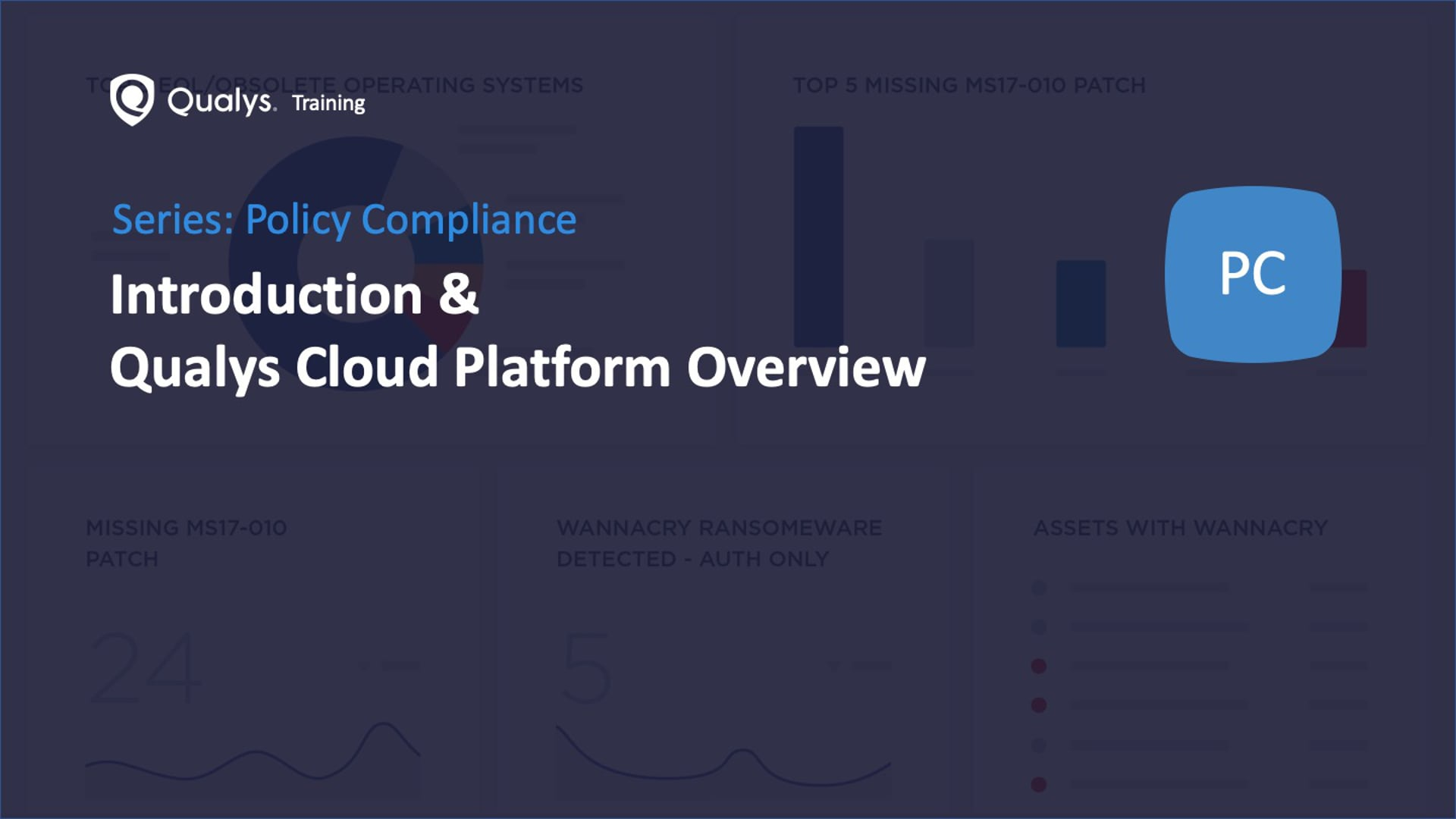 Introduction and Qualys Cloud Platform Overview