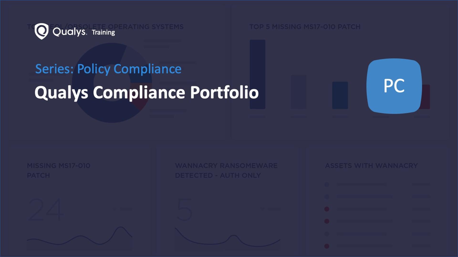 Qualys Compliance Portfolio