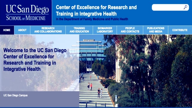 6-Center of Excellence for Research and Training in Intergrative Health