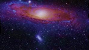 A Loop Deep In Space