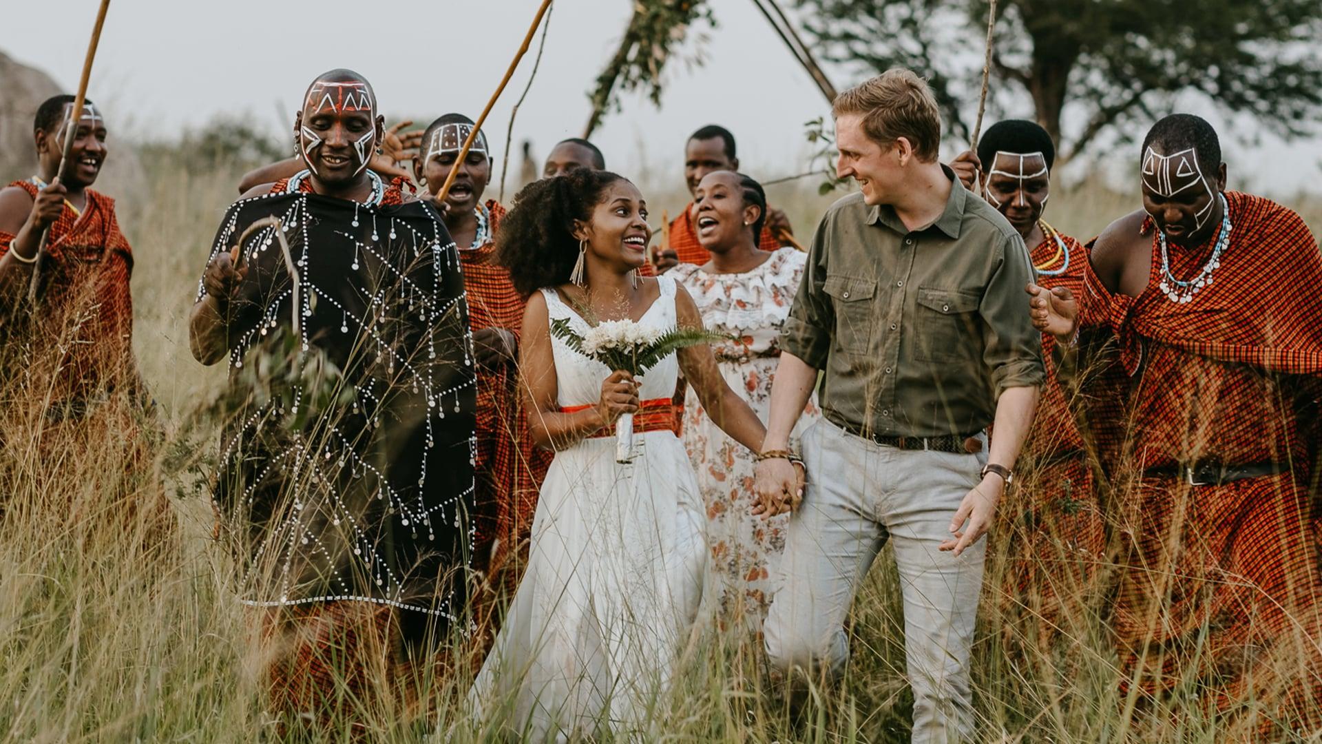 Wedding in Africa - Four Seasons Serengeti - Tanzania