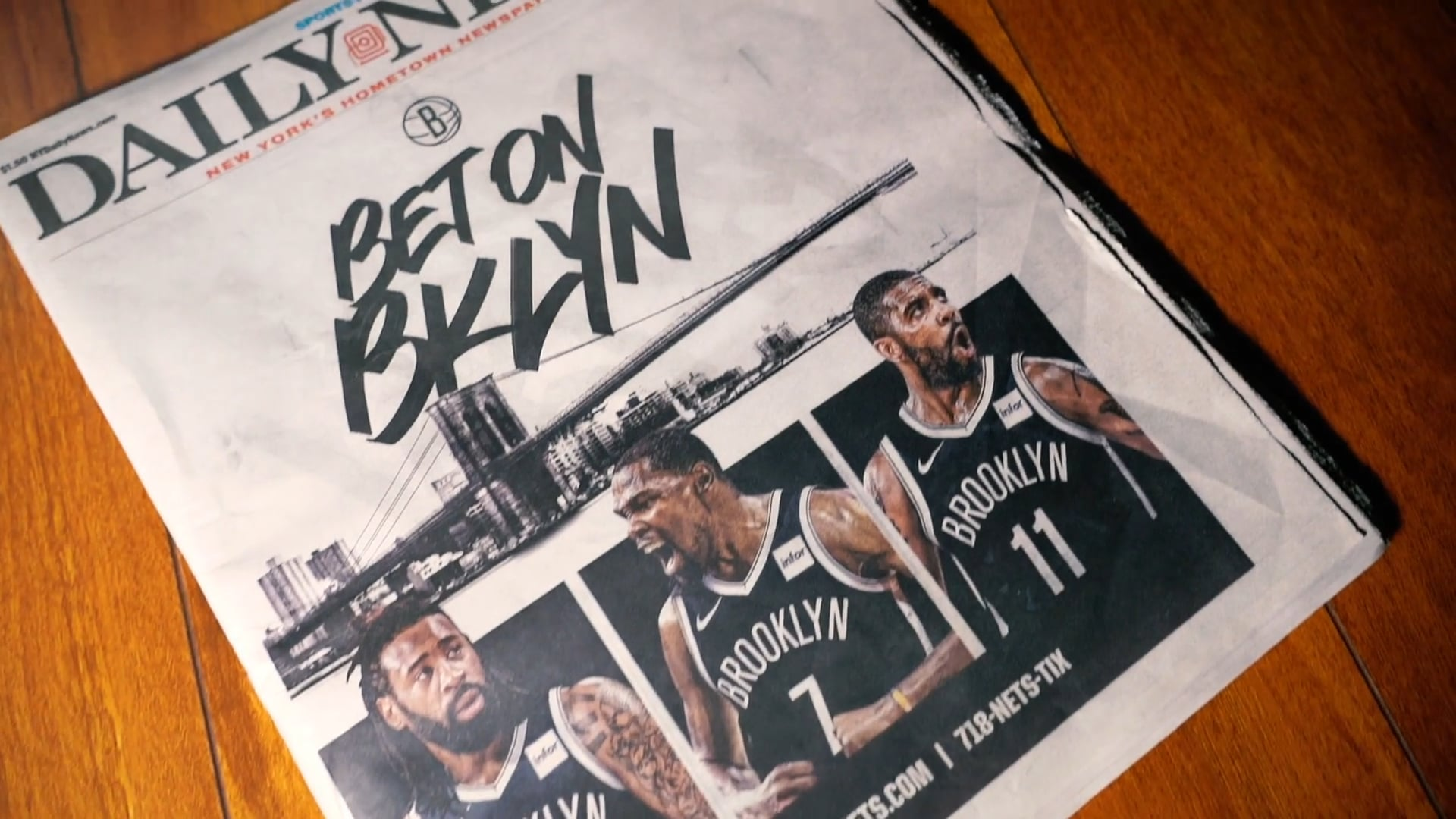 Kyrie Irving & Kevin Durant team up in Brooklyn