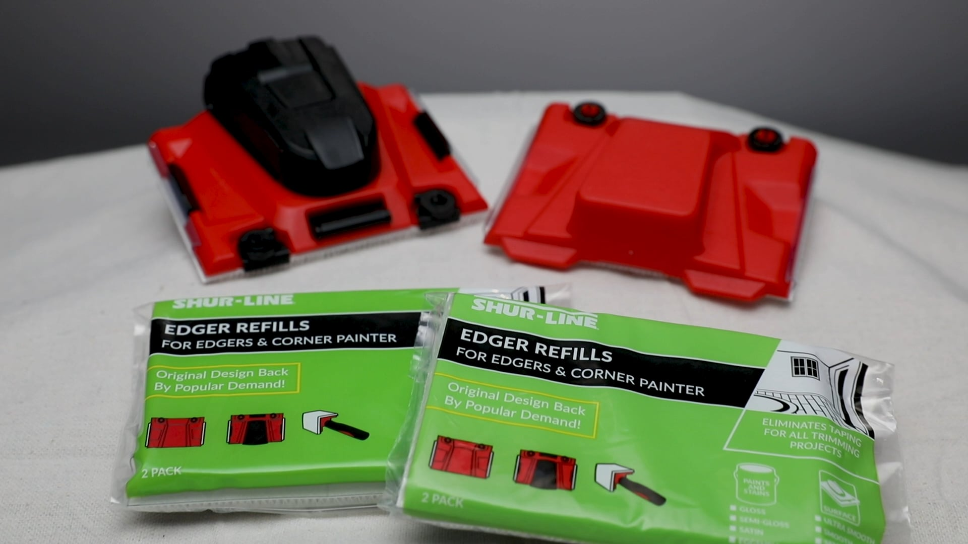 Edger Pad Removal