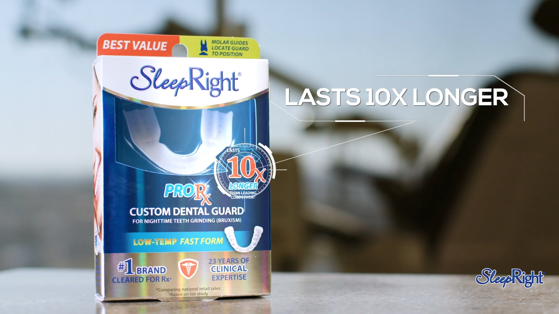 Sleep Right Pro RX Dental Guard :30