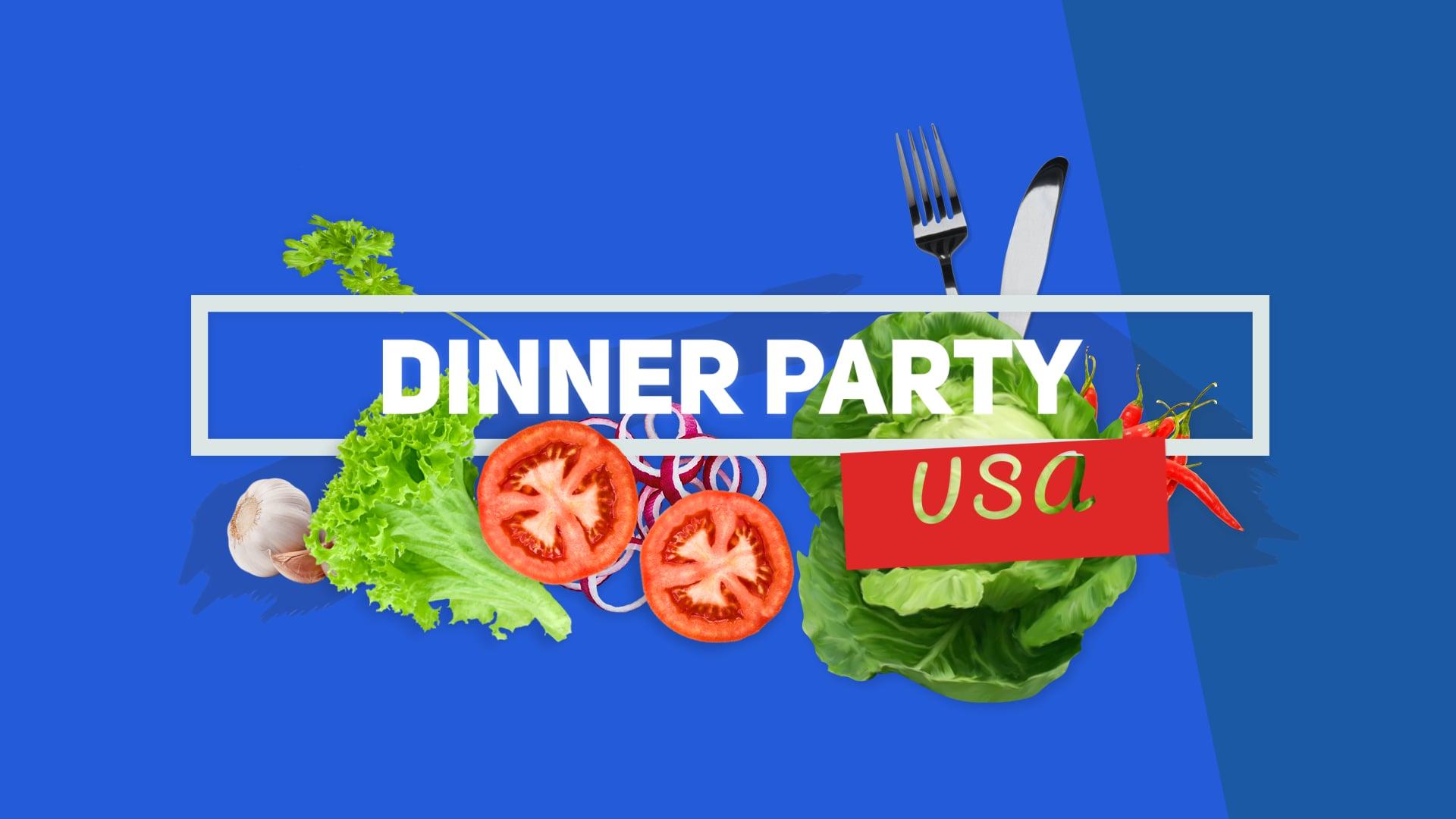 #DinnerPartyUSA