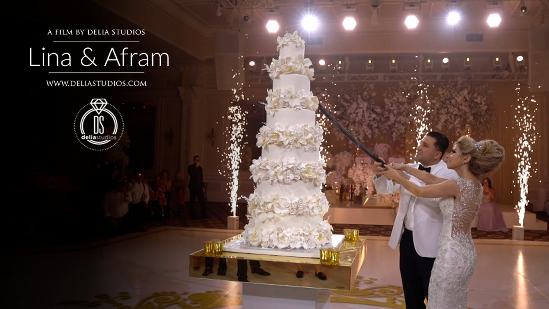 Lina & Afram :: Wedding Highlights :: The Legacy Castle, Pompton Plains, NJ