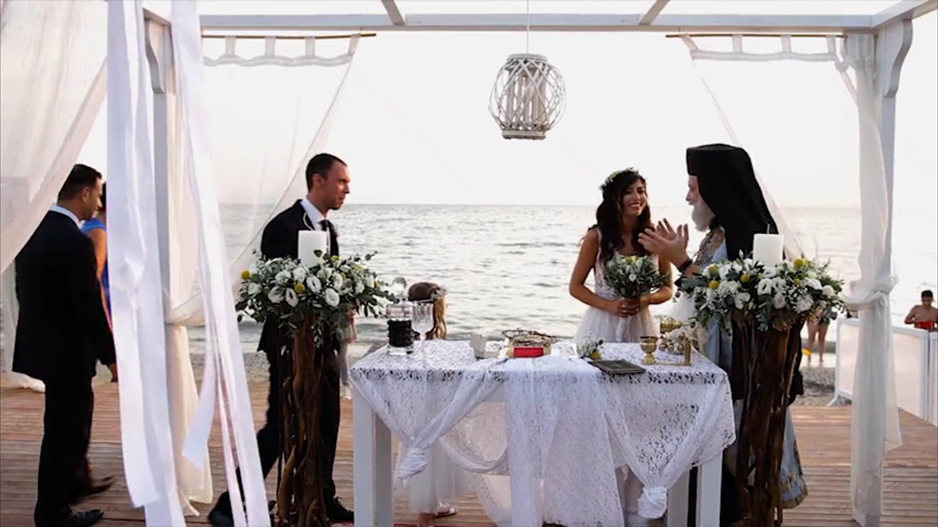 Teaser wedding clip, Beach Wedding @ Athens Riviera, Summer 2019. Say WOW!