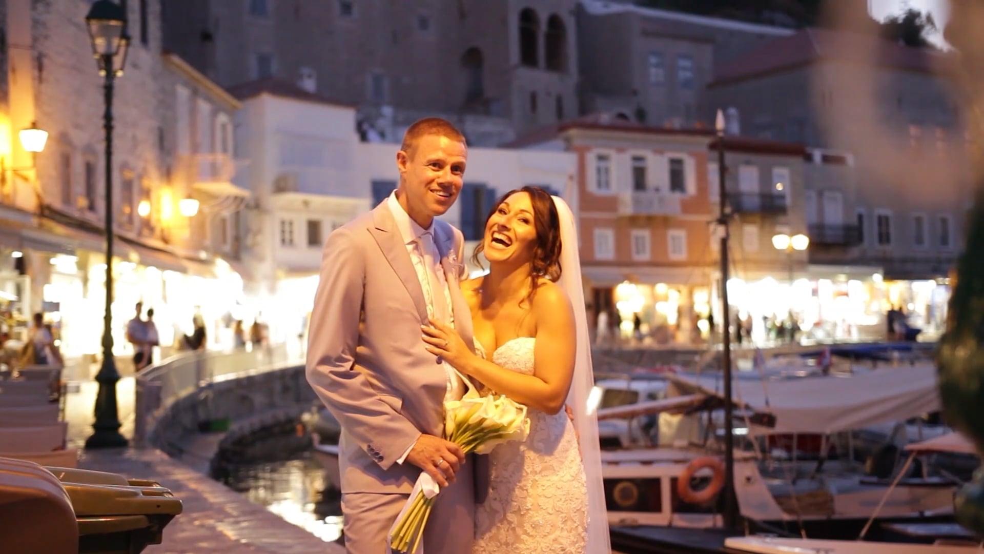 Teaser wedding clip, Destination Wedding in the island of Hydra, Summer 2019. A fairy tale story!