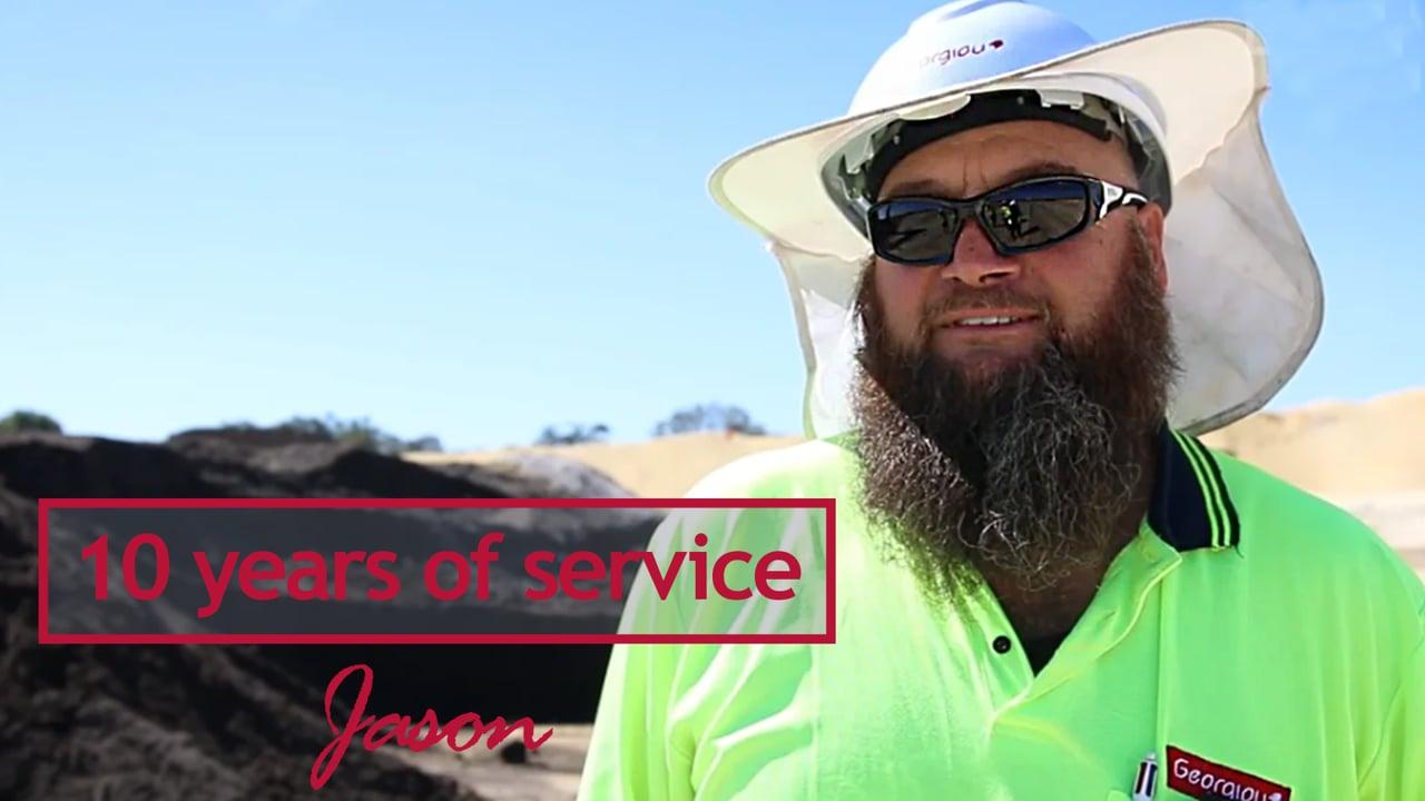 Jason Innes - 10 years at Georgiou
