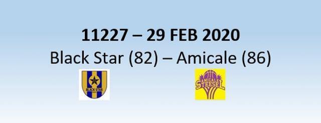 N1H 11227 Black Star Mersch (82) - Amicale Steinsel (86) 29/02/2020