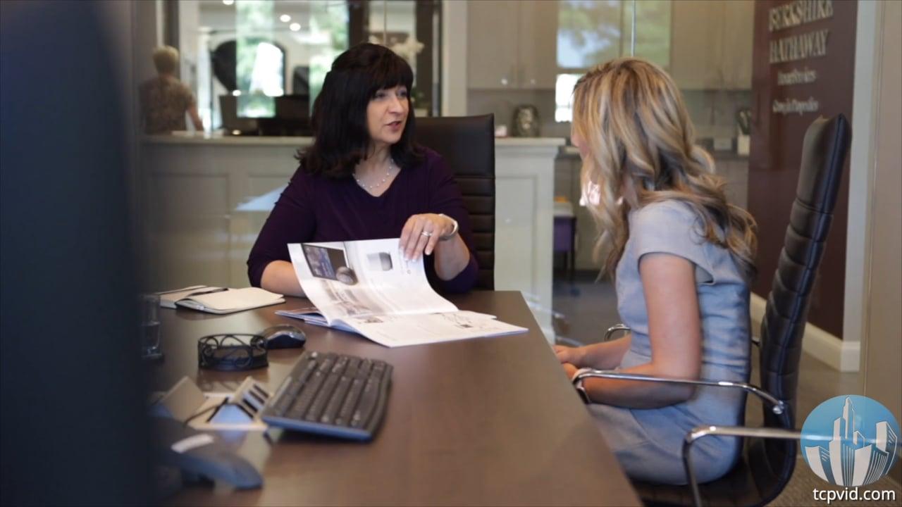 Pam Santoro, Realtor of Berkshire Hathaway gives TC Productions a Testimonial
