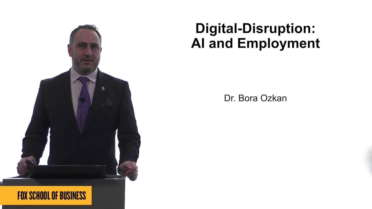 61769Digital-Disruption: AI and Employment
