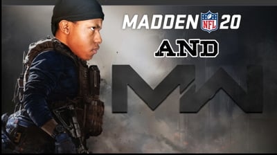 Playing Call of Duty & Madden 20 - Stream Replay