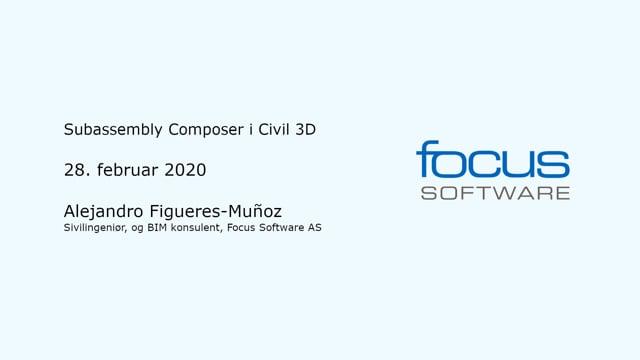 Subassembly Composer i Civil 3D