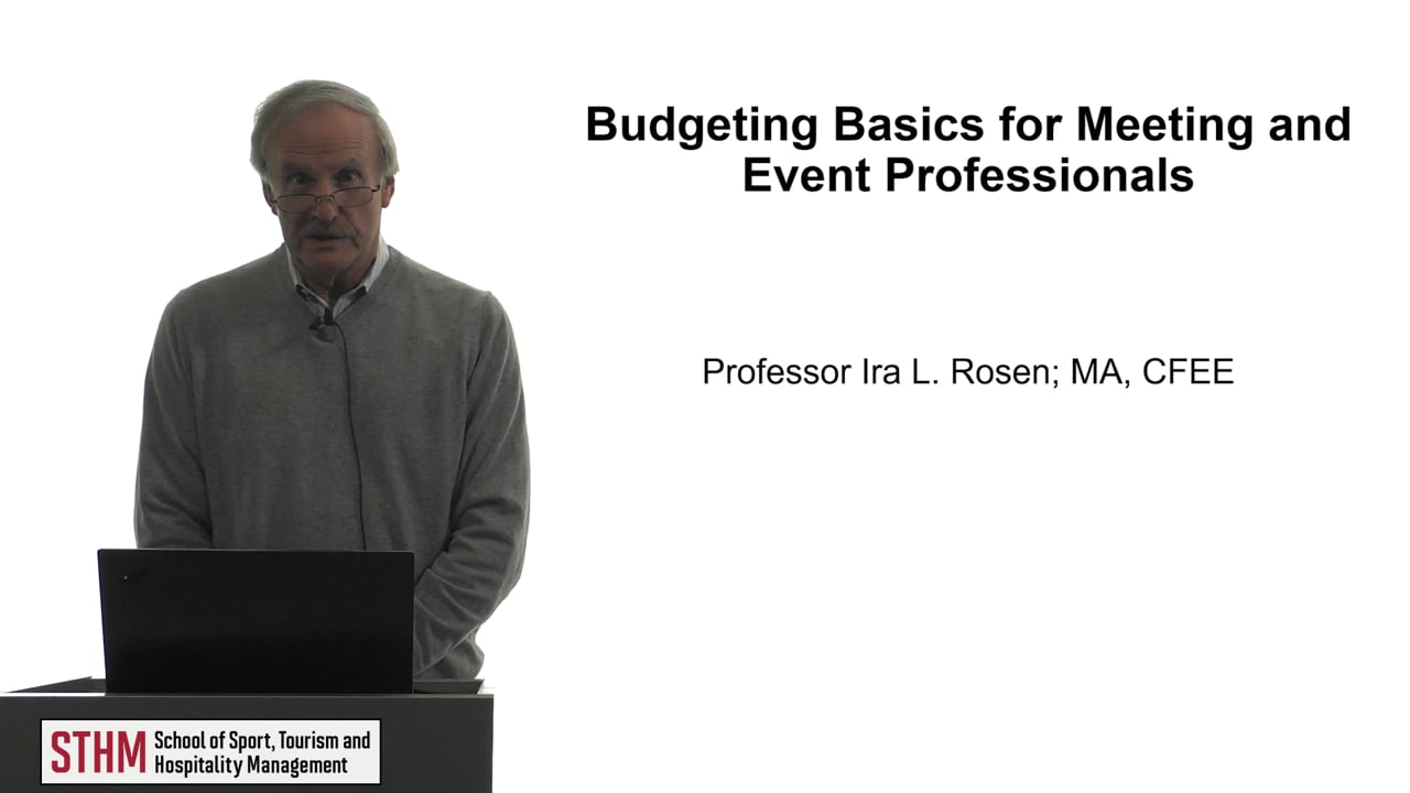 61774Budgeting Basics for Meeting and Event Professionals