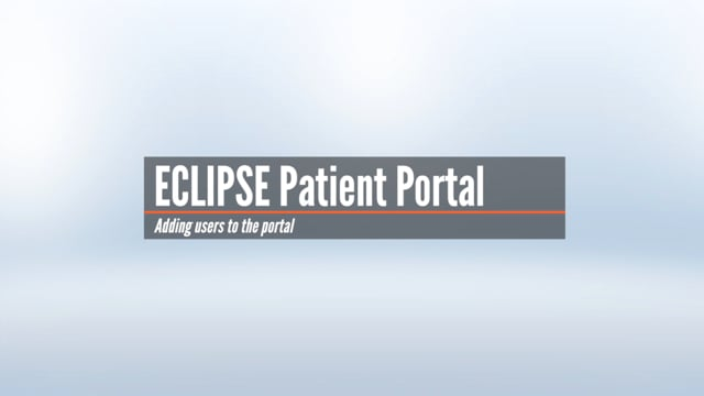 Patient Portal – Adding Authorized Users