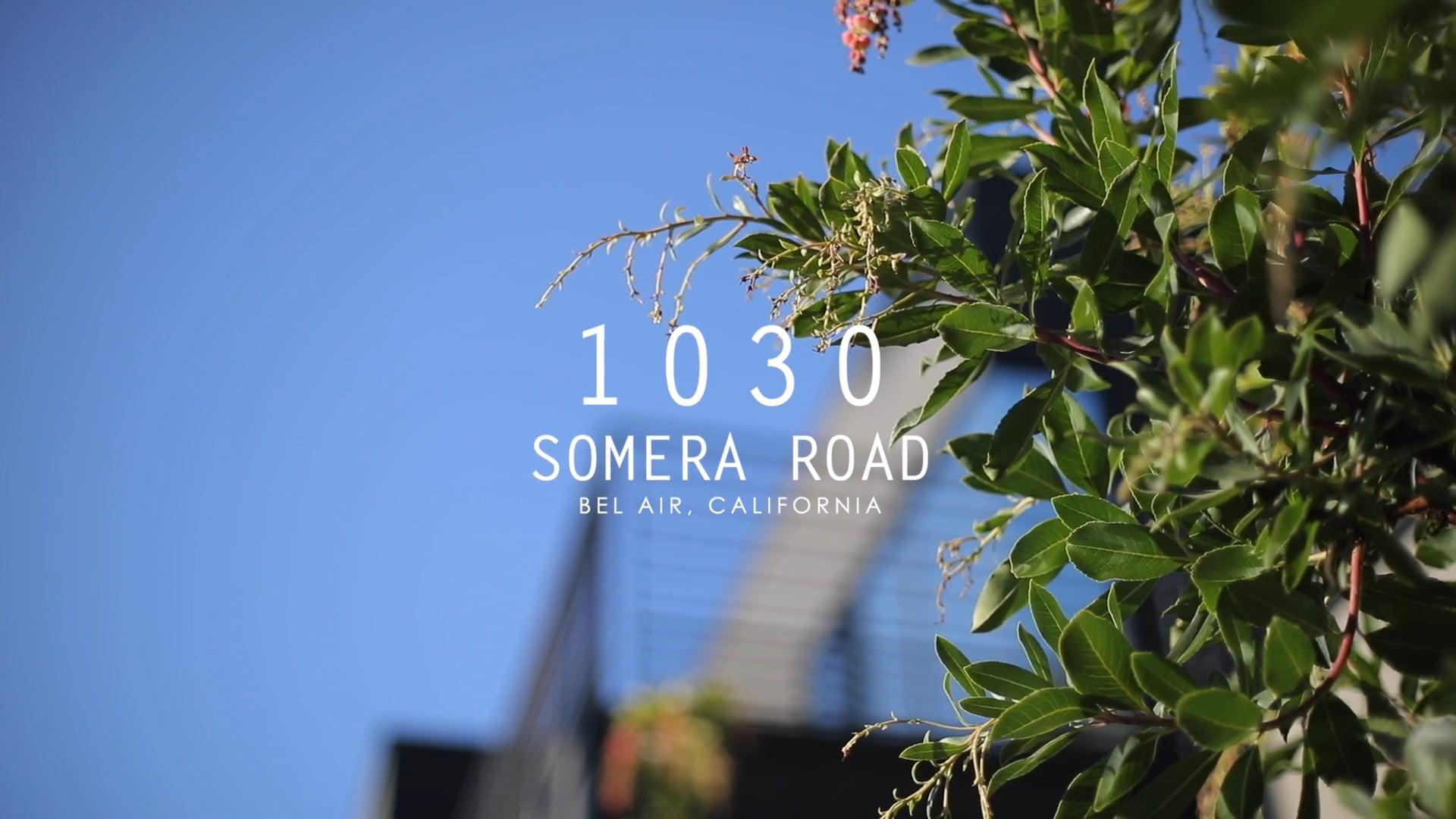 1030 Somera Road   Bel Air CA