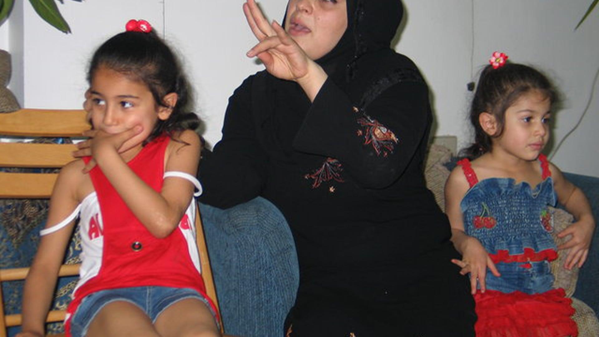 IRAQI REFUGEE Ikhlass