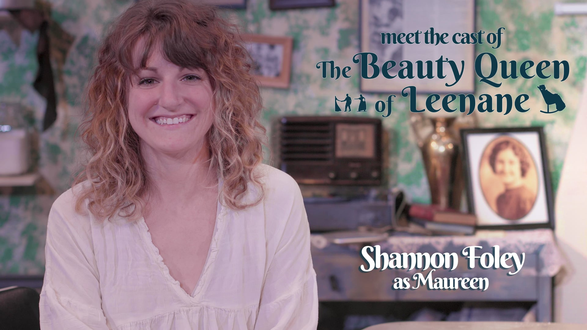 """Meet the Cast of """"The Beauty Queen of Leenane"""" (Shannon Foley as Maureen)"""