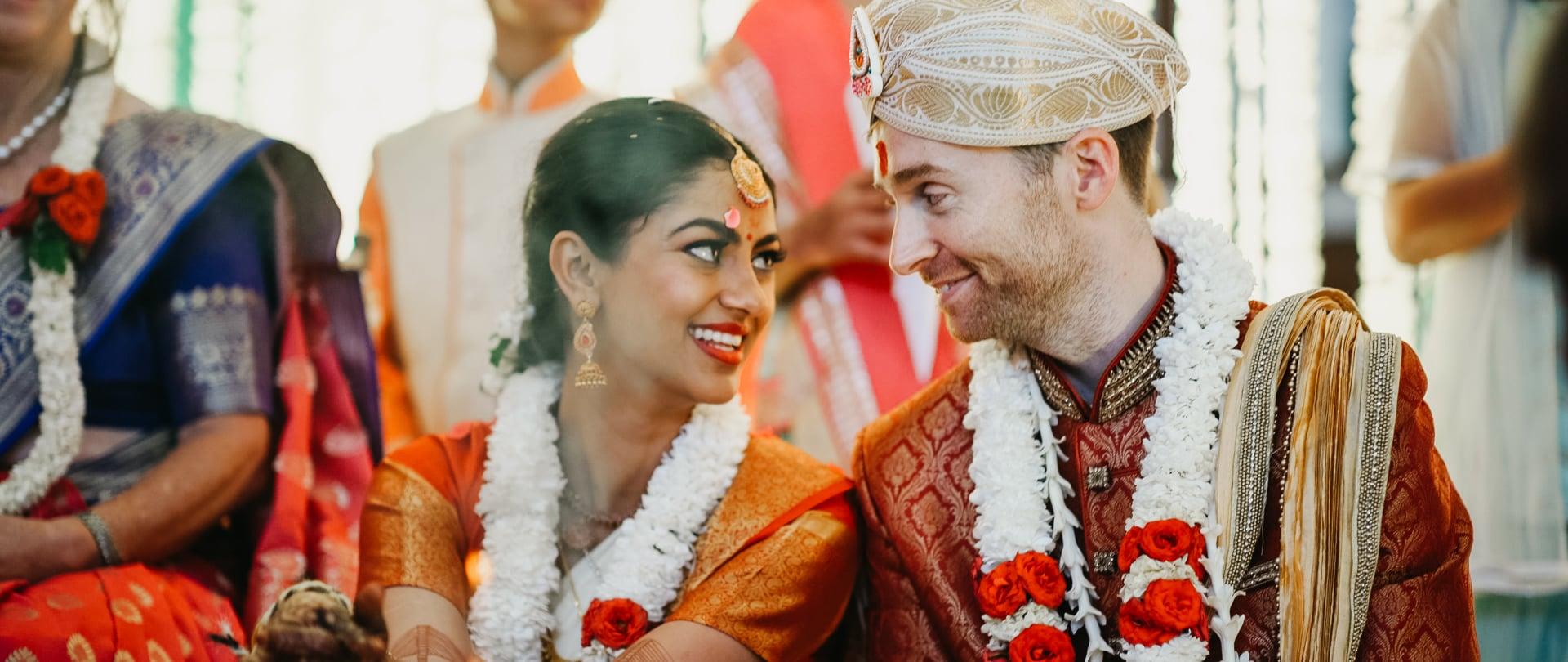 Priya & Alex Wedding Video Filmed at India, Asia