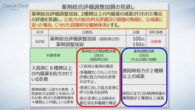 診療報酬改定<病院薬剤師> 〜 基本診療料③ ~