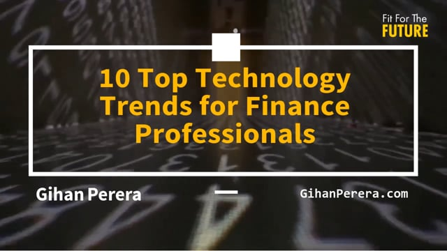 10 Top Technology Trends for Finance Professionals