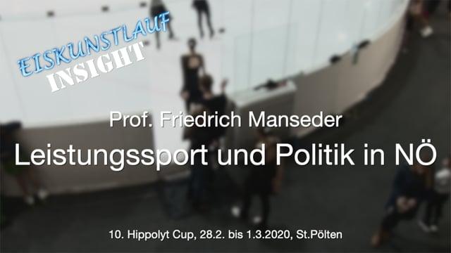 Eiskunstlauf - Sportpolitik NÖ - Hippolyt Cup 2020