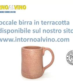 Video: Boccale birra terracotta cuoio cl. 40