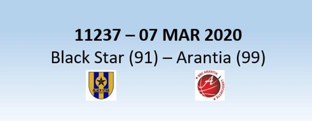 N1H 11237 Black Star Mersch (91) - Arantian Larochette (99)  07/03/2020