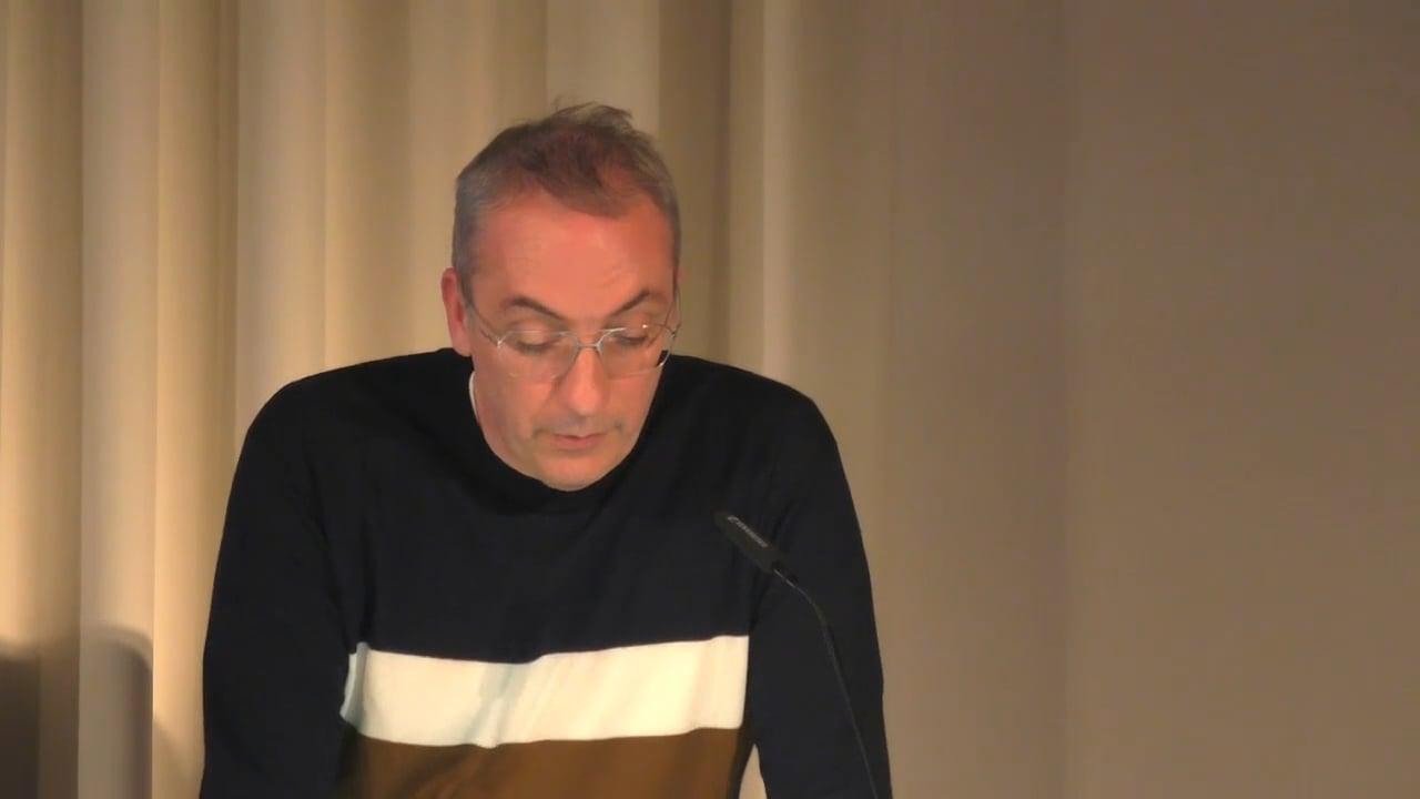 Talk by Didier Debaise