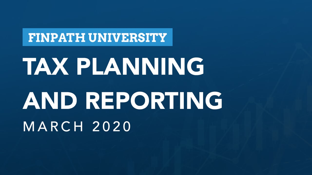 Tax Planning & Reporting