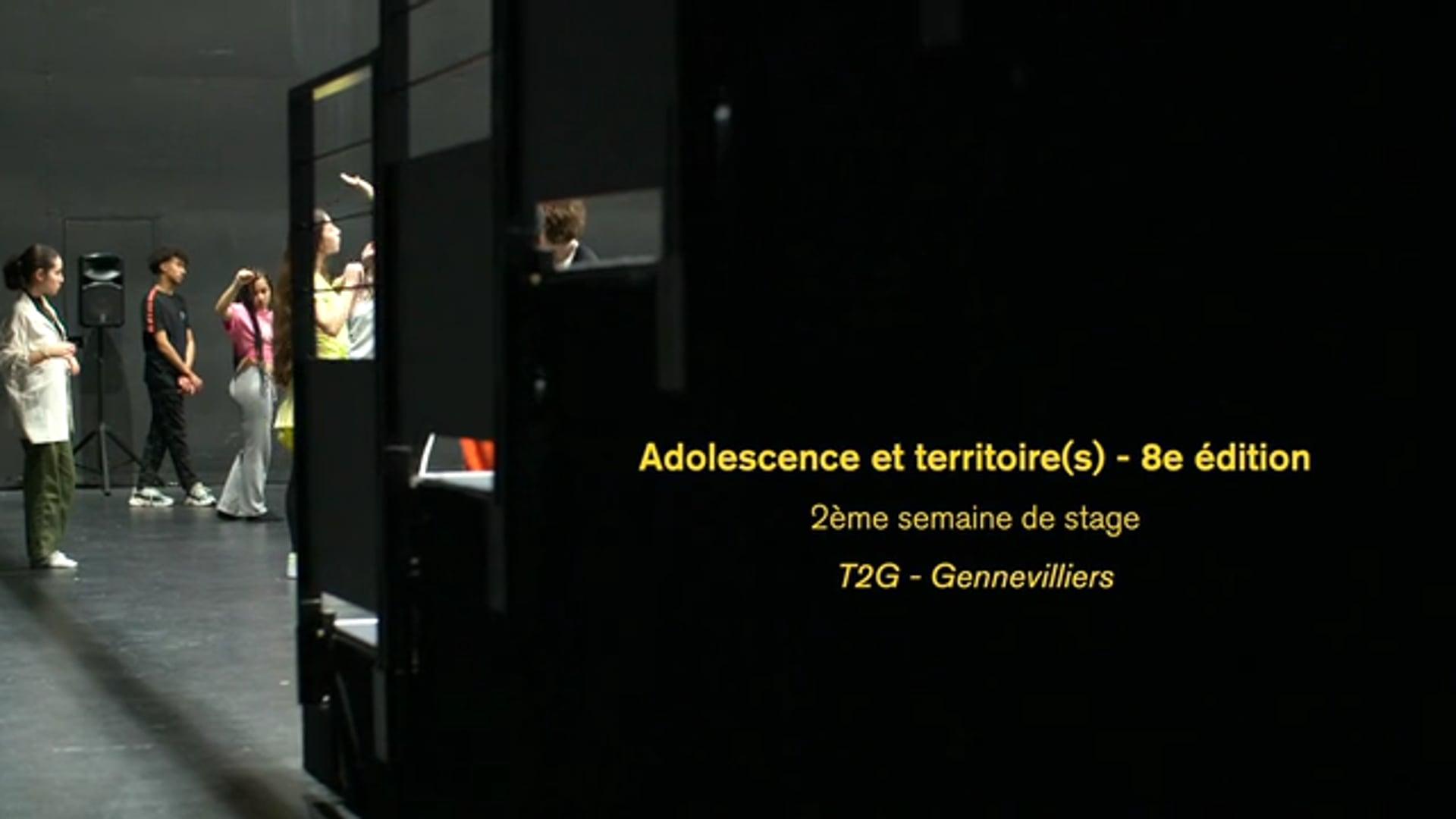 Adolescence et Territoire(s) - 8e édition - EP2