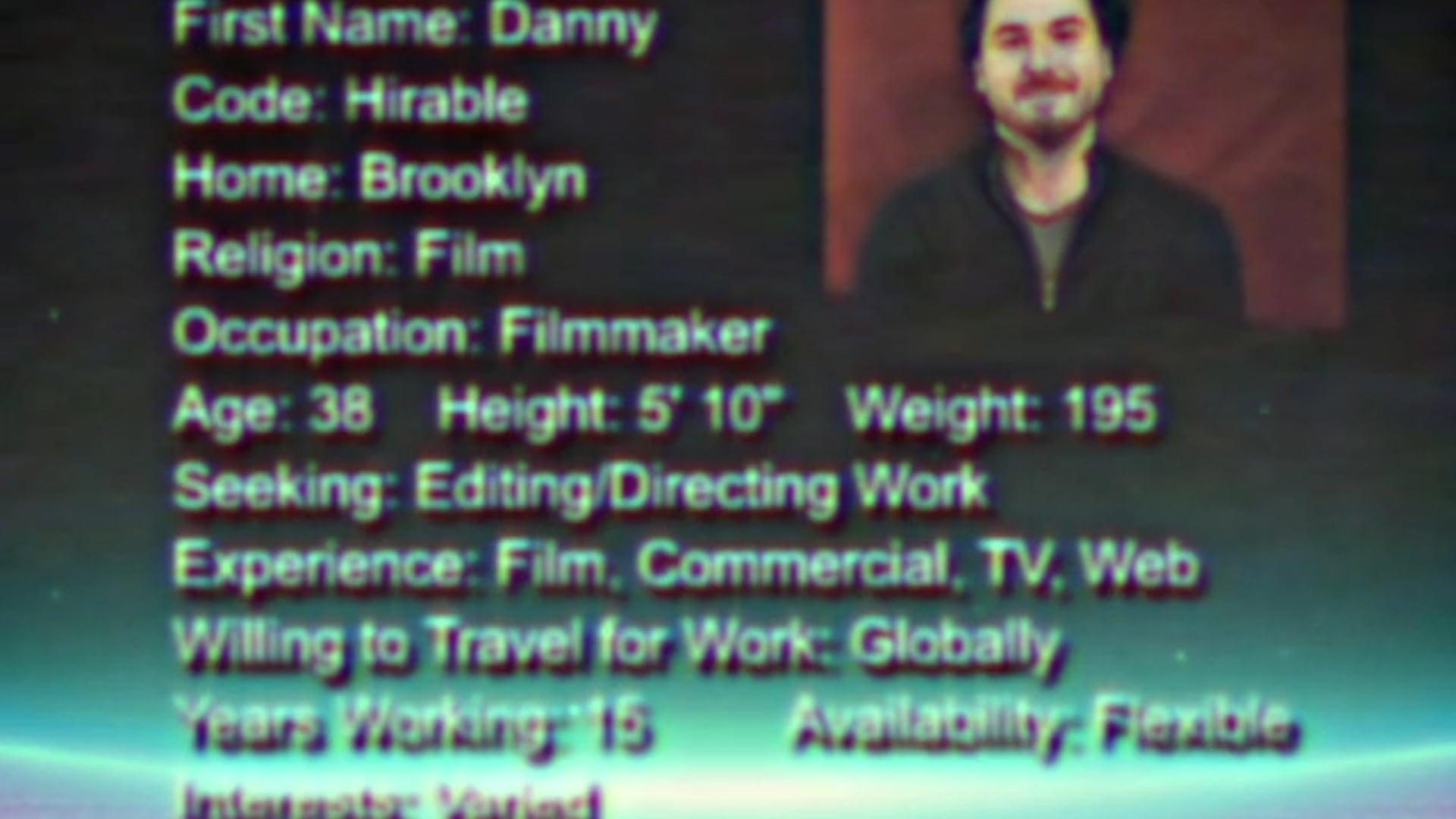 VHS Video Resume