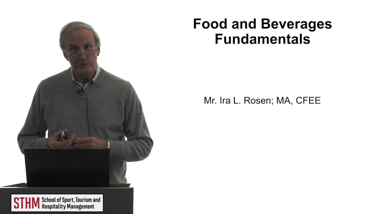 61780Food and Beverage Fundamentals
