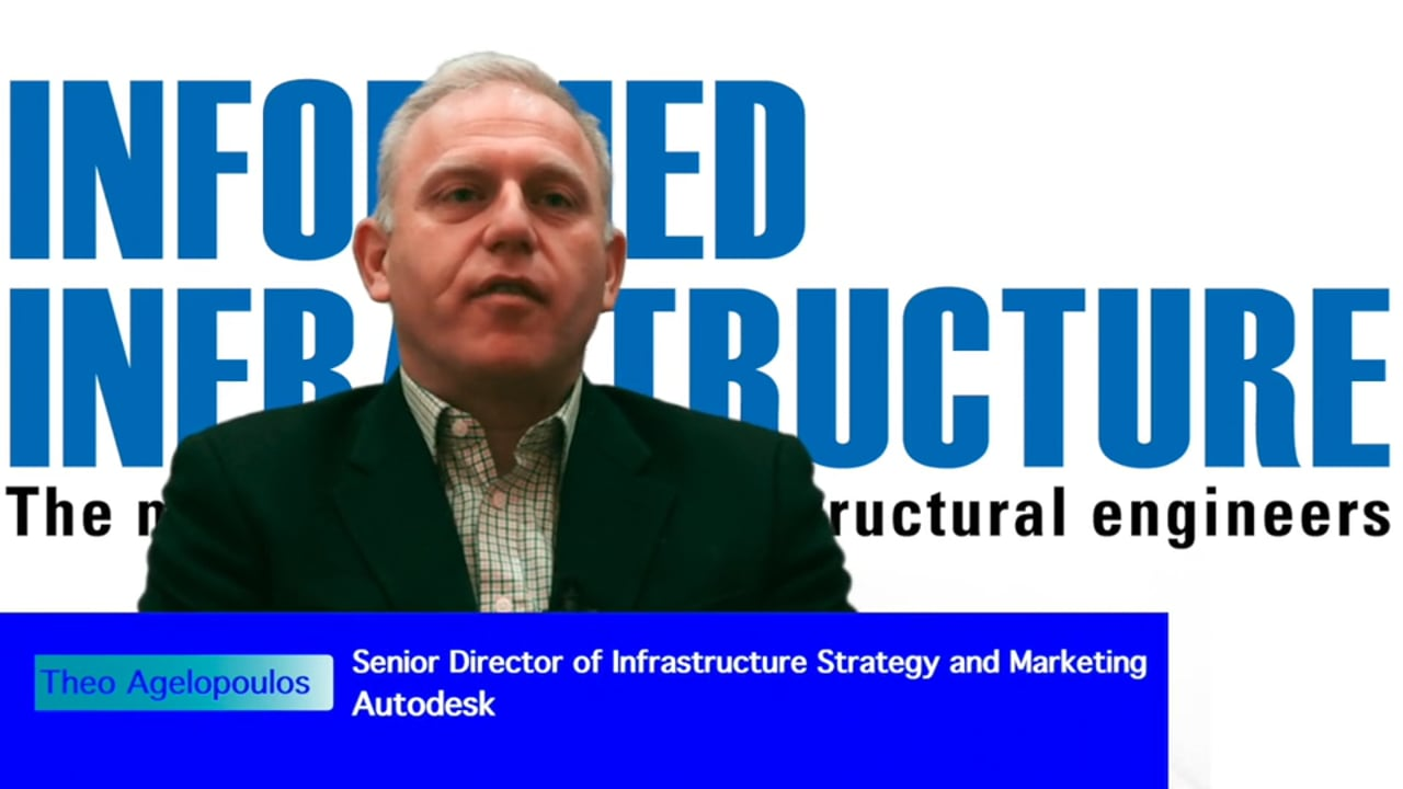 Interview with Theo Agelopoulos, the senior director of Infrastructure Strategy and Marketing at Autodesk