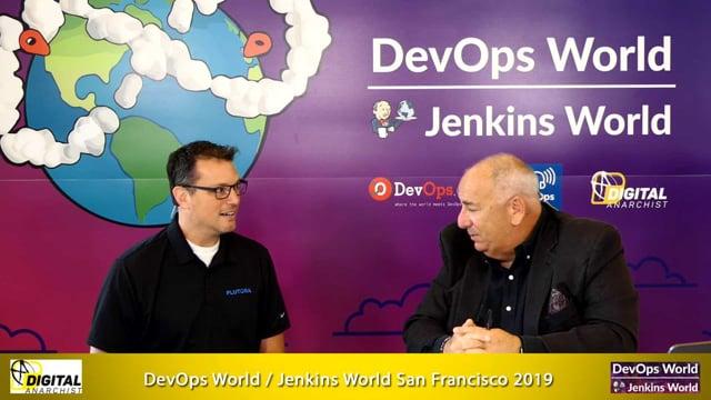 Jeff Keyes, Plutora | DevOps World Jenkins World San Francisco 2019