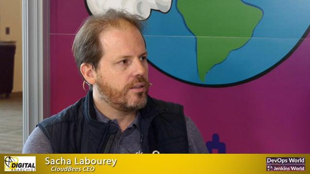Sacha Labourey, CloudBees CEO | DevOps World Jenkins World San Francisco 2019