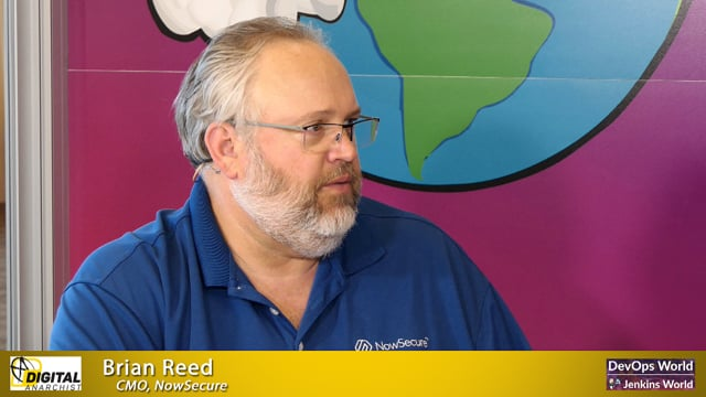 Brian Reed, NowSecure | DevOps World Jenkins World San Francisco 2019