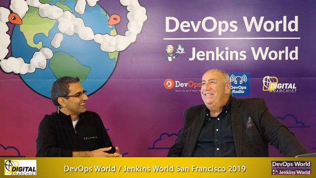 Sanjeev Sharma, Delphix | DevOps World Jenkins World San Francisco 2019