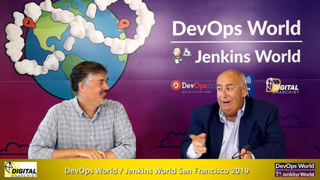 Anders Wallgren, CloudBees | DevOps World - Jenkins World San Francisco 2019
