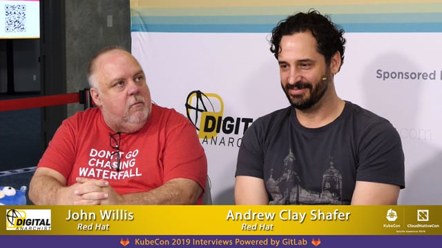 John Willis and Andrew Clay Shafer | KubeCon + CloudNativeCon San Diego 2019