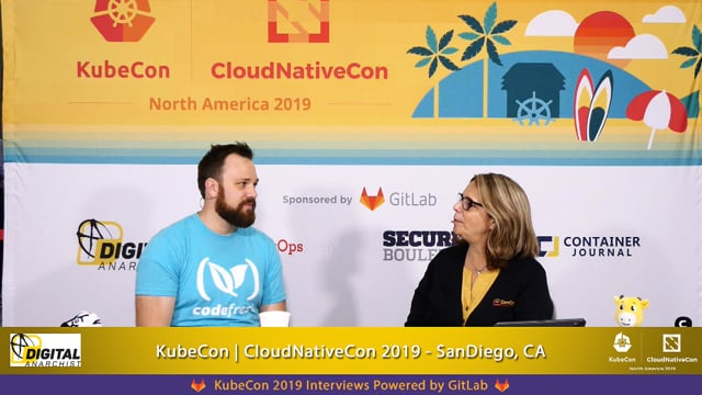 Dan Garfield, CodeFresh   KubeCon + CloudNativeCon San Diego 2019
