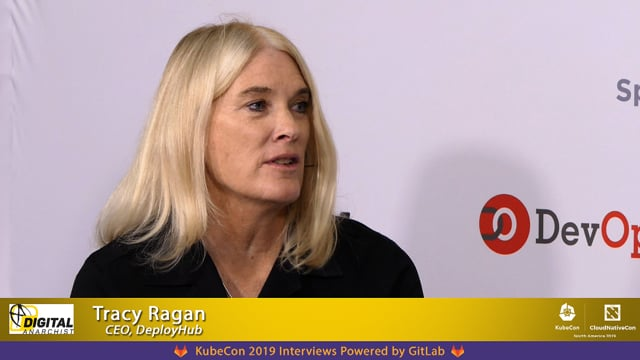 Tracy Ragan, DeployHub | KubeCon + CloudNativeCon San Diego 2019