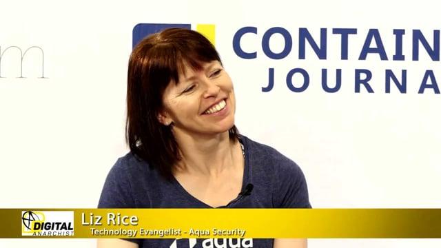 Liz Rice, Technology Evangelist, Aqua Security | KubeCon + CloudNativeCon 2018
