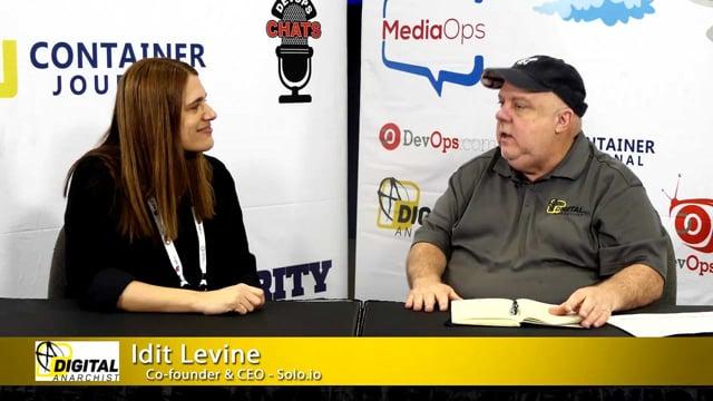 Idit Levine, Co-founder & CEO, solo.io | KubeCon + CloudNativeCon 2018