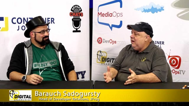 Barauch Sadogursty, Head of Developer Relations, JFrog | KubeCon + CloudNativeCon 2018