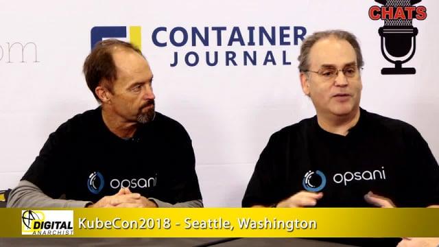 Ross Schibler and Bert Armijo, Opsani | KubeCon + CloudNativeCon 2018